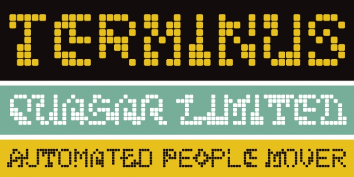 Terminus font preview