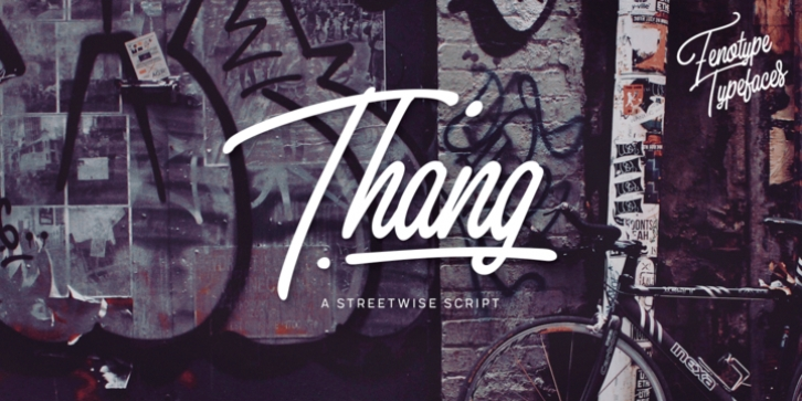 Thang font preview