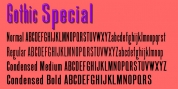 Gothic Special font download