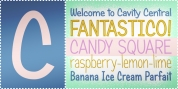 Candy Square BTN font download