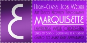 Marquisette BTN font download