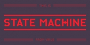 State Machine font download