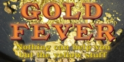 Gold Fever font download