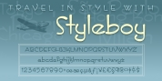 ITC Styleboy font download