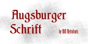 Augsburger Schrift font download