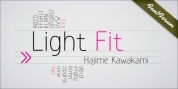 Light Fit font download