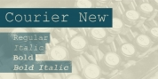 Courier New font download