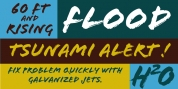 Flood font download