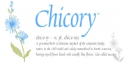 Chicory font download
