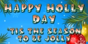 Happy Holly Day font download
