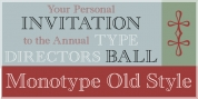 Monotype Old Style font download