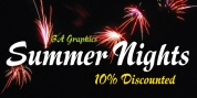 Summer Nights font download