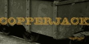 Copperjack font download