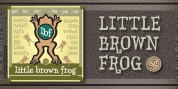Little Brown Frog SG font download