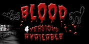 Blood font download