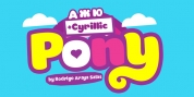 Pony font download