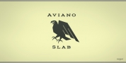Aviano Slab font download