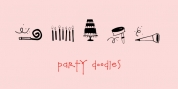 Party Doodles font download