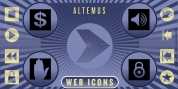 Altemus Web Icons font download