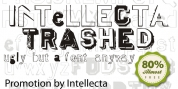 Intellecta Trashed font download