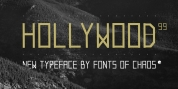 Hollywood 99 font download