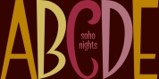 SoHo Nights BF font download