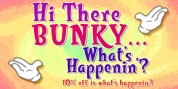 Bunky font download