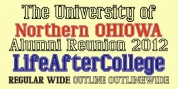 LifeAfterCollege font download