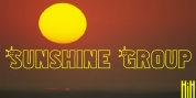 Sunshine Group font download