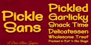 Pickle Sans font download