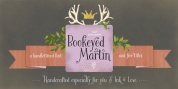 Bookeyed Martin font download