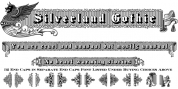 Silverland Gothic font download