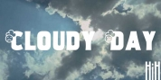 Cloudy Day font download