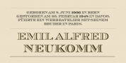 Chevalier font download