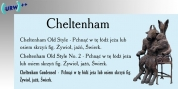 Cheltenham Old Style No 2 font download