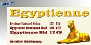 Egyptienne font download