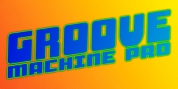 SF Groove Machine Pro font download