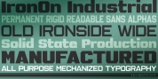 IronOn font download
