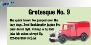 Grotesque No 9 font download