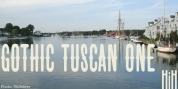 Gothic Tuscan One font download