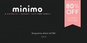 Minimo font download