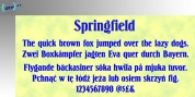 Springfield font download