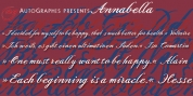 Annabella font download