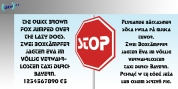Stop font download