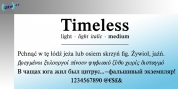 Timeless font download