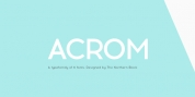 Acrom font download