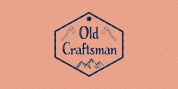 Old Craftsman font download