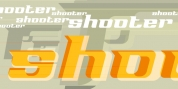 Shooter font download