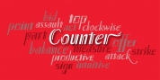 P22 Counter font download