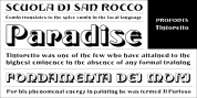 Tintoretto font download